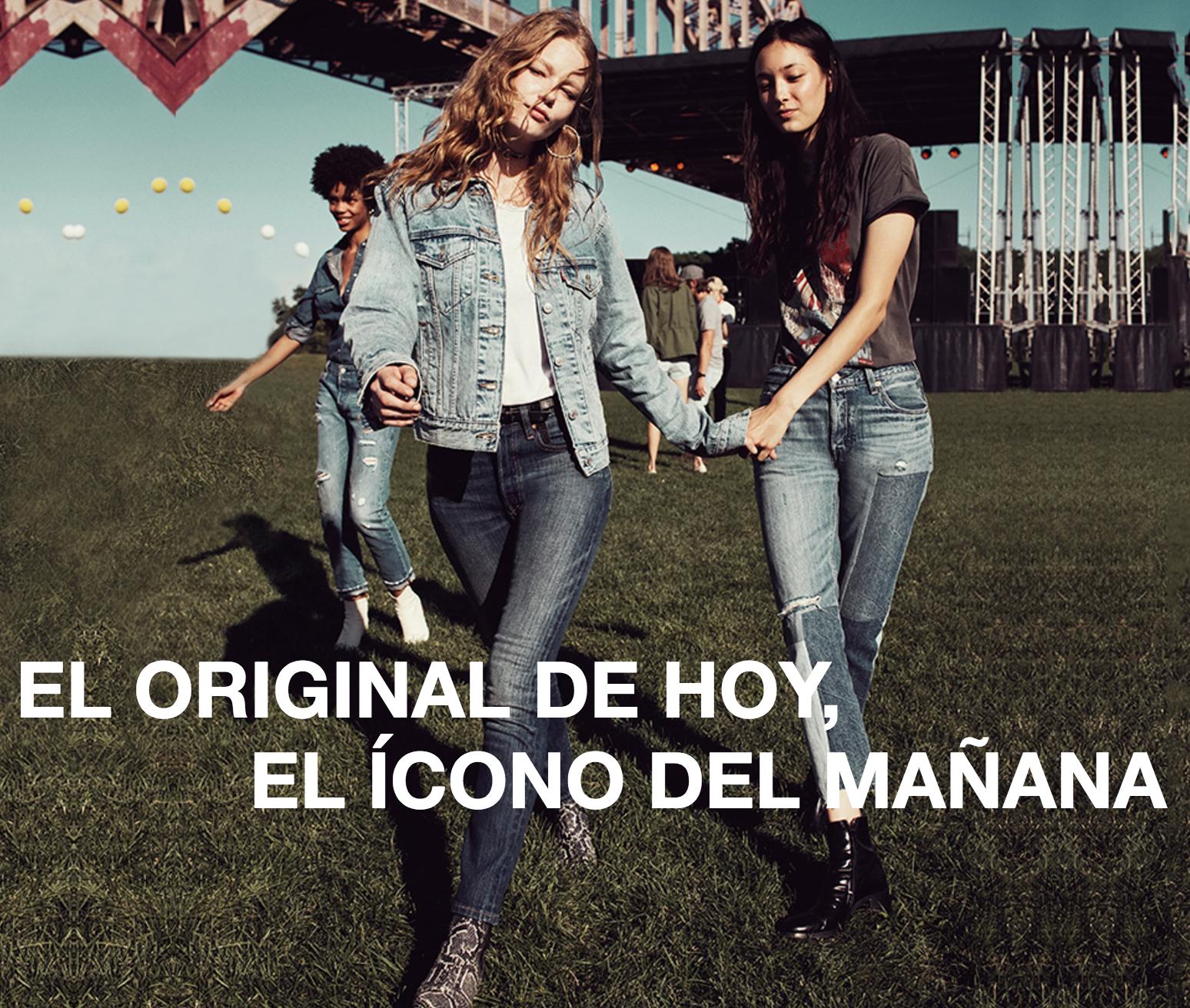 501 SKINNY ORIGINAL denim jeans levi's