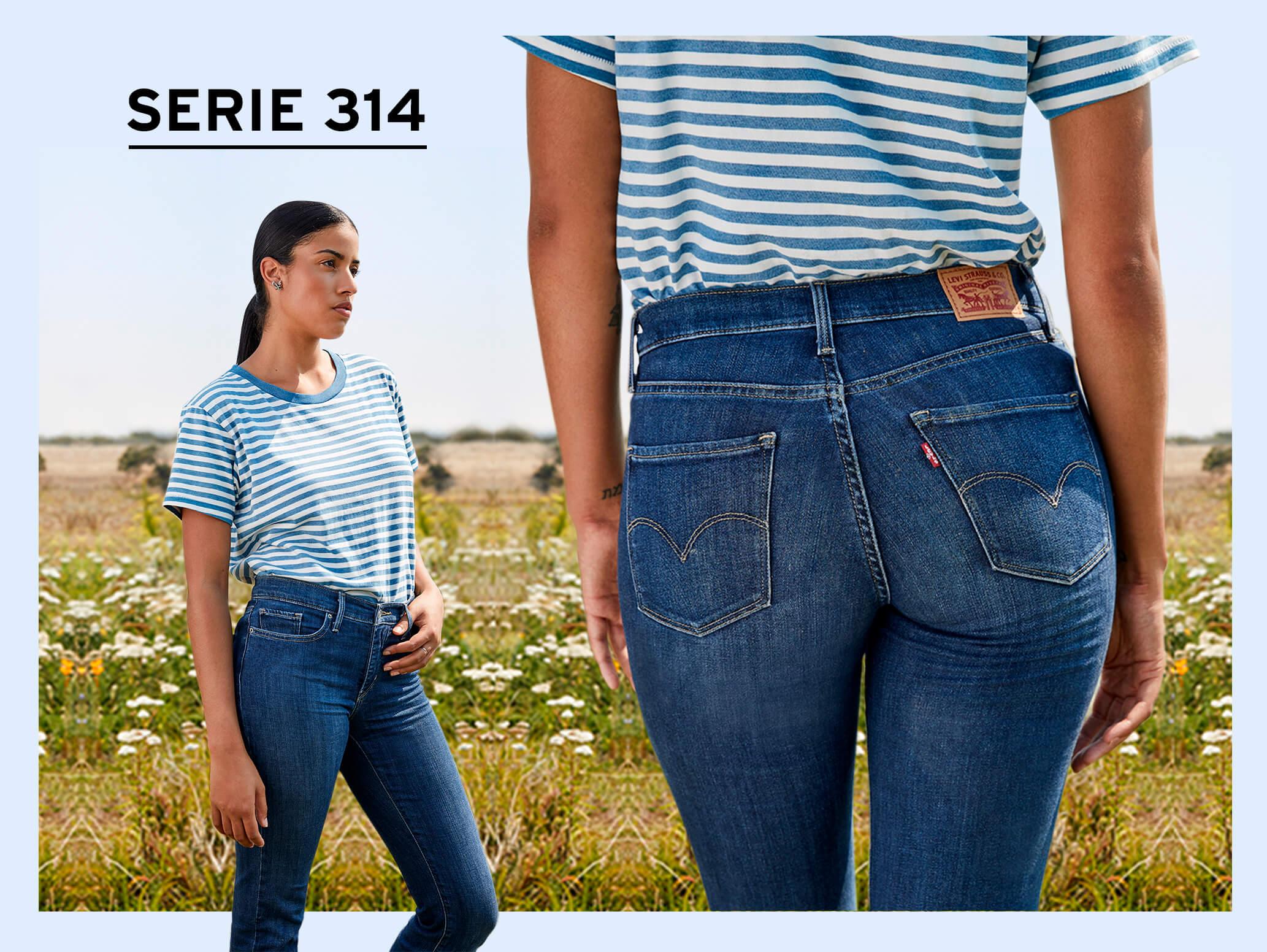 SERIE 300 LEVI'S denim jeans levi's