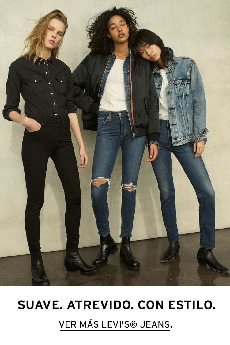levis jeans mujer
