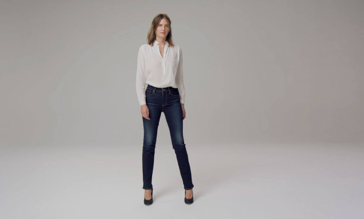 724 high rise straight levi`s mujer jeans levis