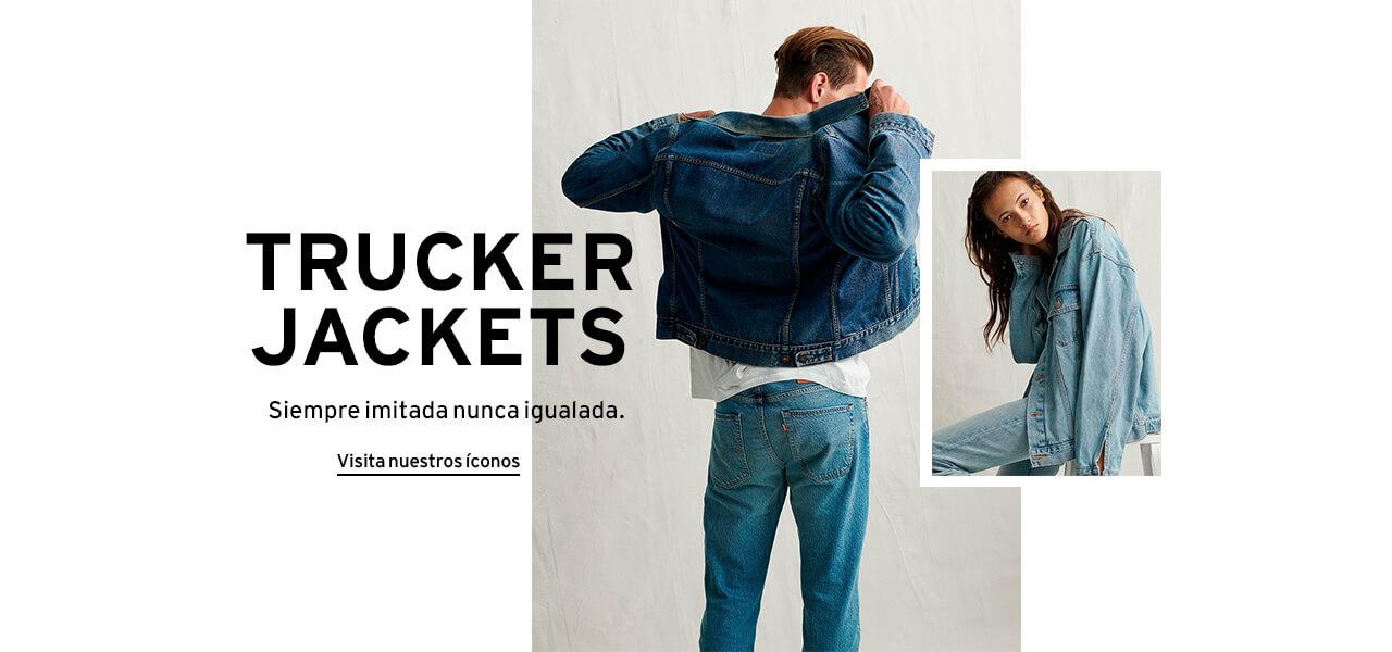 trucker jackets íconos Levi's