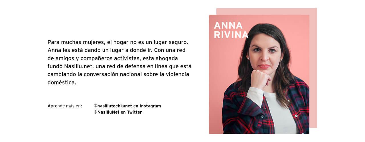 ANNA RIVINA I SHAPE MY WORLD