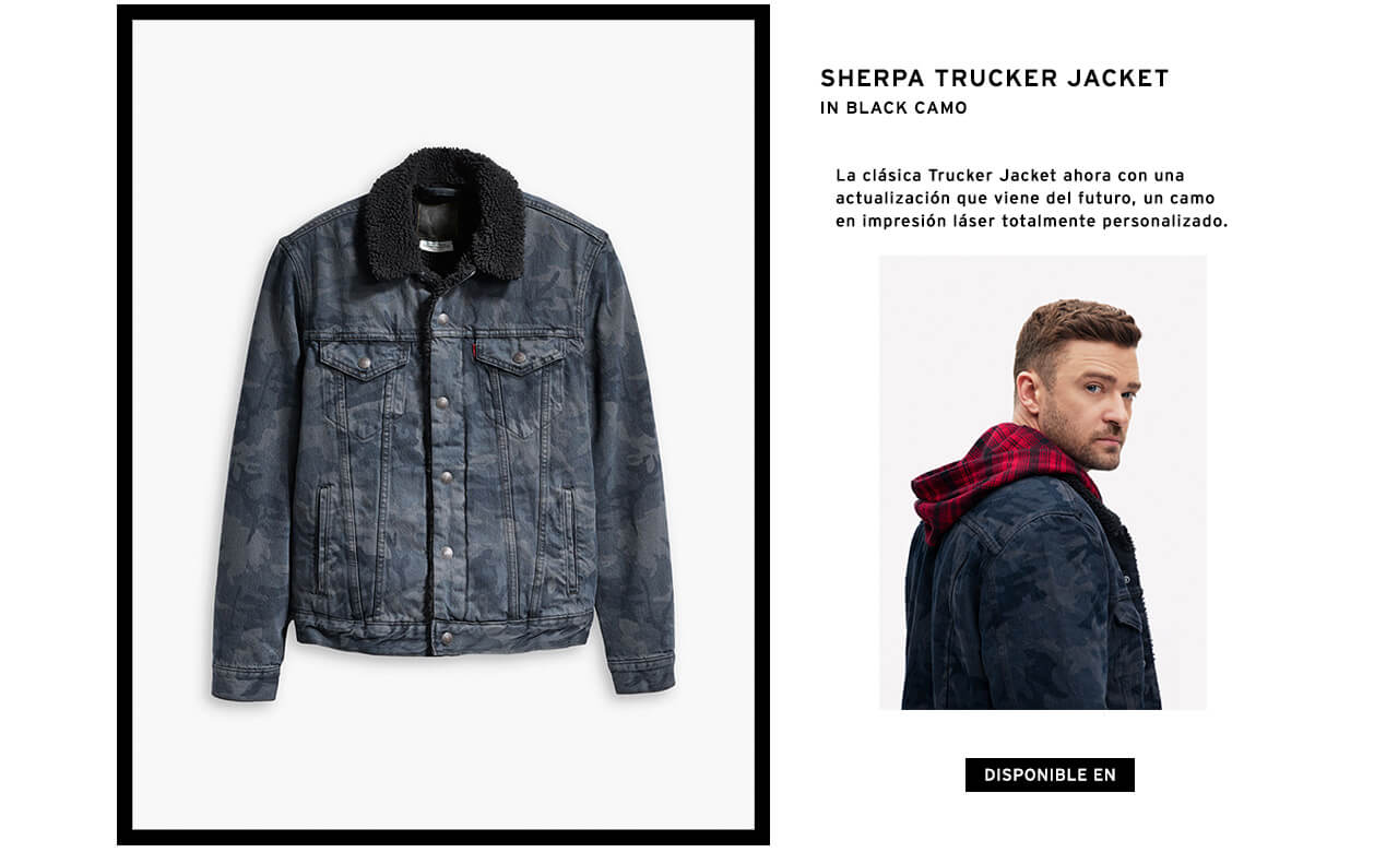 SHERPA JUCKER JUSTIN TIMBERLAKE LEVI`S FRESH LEAVES